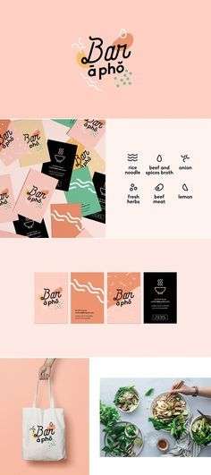 branding restaurant vietnamien Best Picture For Logo Design diy For Your Taste You are looking for something, and it is going to tell you exactly what you are looking for, and you didn't find that pic Logo Branding, Logo And Identity, Branding Agency, Visual Identity, Font Logo, Branding Ideas, Identity Art, Packaging Ideas, Brand Packaging