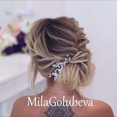 Do you wanna see more fab hairstyle ideas and tips for your wedding? Then, just visit our web site babe! makeup ideas Do you wanna see more fab hairstyle ideas and tips for your wedding? Then, just visit our web site babe! Up Hairstyles, Braided Hairstyles, Hairstyle Ideas, Wedding Hairstyles, Updo Styles, Short Hair Styles, Hair Styles For Wedding, Hair Upstyles, Braided Updo
