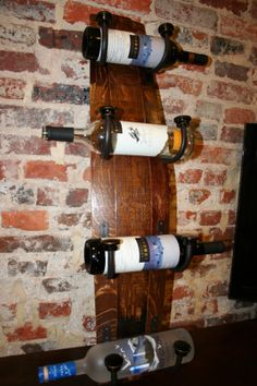 Wine Rack Made From Repurposed Wine Barrel Staves. why not towel rack. bottom two to hang used towels while others rolled up towels on east wall of open shower Wine Barrel Sink, Wine Barrel Chairs, Wine Barrels, Barrel Projects, Diy Wood Projects, Fun Projects, Diy Furniture Decor, Barrel Furniture, Decorative Storage