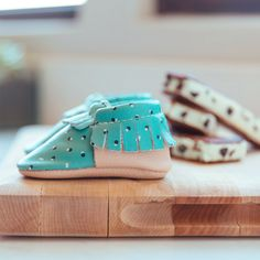Ayesha Curry + Freshly Picked Limited Edition: Mint Chip Green Moccasins | Soft Sole, Mint Green and Pink. http://freshlypicked.com/collections/moccasins/products/mint-chip