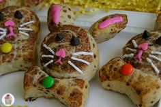 Easter is next weekend, have you started planning your menu? We usually have a simple breakfast and then our large meal in the early afternoon. My boys love these Bunny Cinnamon Rolls! Sometimes with everything else that needs to be made for Easter Dinner, using store bought cinnamon rolls is a little easier, but you could certainly make your own.
