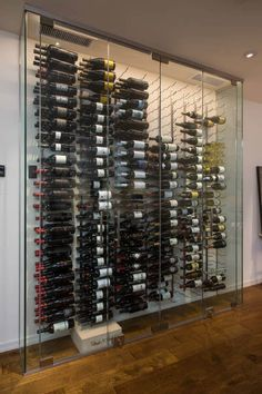 Custom Gl Enclosed Wine Cellar Design Gallery