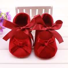 Red Lace Shoes