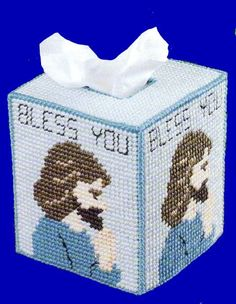 Great tissue topper for yourself or to give as a gift, especially for someone who is shut in or in a nursing home. Looking for something to give