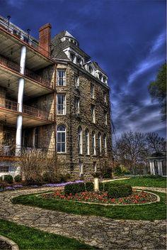 Crescent Hotel, Eureka Springs, Arkansas