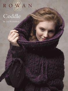 ♥ Coddle - cabled capelet / cowl - Knit this unique, cable-detail snood with feature pompom ties, designed by Lisa Richardson - this pattern is now available for FREE download to support Wool Week 2014. (hva)