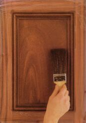 Faux Painting Techniques Mahogany Graining For The Home