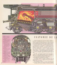 Steam engine boiler diagram. just bosons Steam tractor