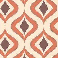 17 Best ideas about Retro Wallpaper on Pinterest | Orange