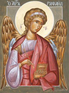 Archangel Raphael by ikonographics