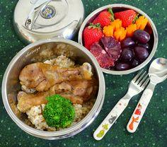 Shoyu Chicken Bento by sherimiya ♥, via Flickr