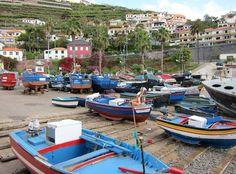 Artisans of Leisure @ArtisansLeisure - Slideshow - Fishing Village, Camara de Lobos, Madeira, Portugal