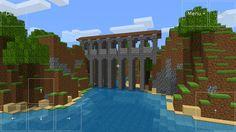 Minecraft castle bridge