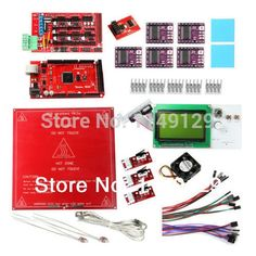 83.99$  Watch now - http://alicku.worldwells.pw/go.php?t=2031741563 - Geeetech New Heatbed MK2a+DRV8825 Stepper Driver+LCD2004 Display+ RAMPS1.4+Mega2560,thermistor etc. for 3D Printer Prusa Mendel 83.99$