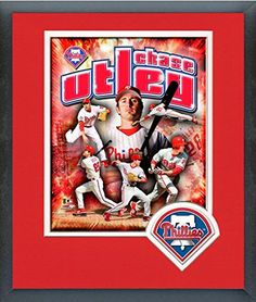 Chase Utley Framed With Team Color Double Matting Ready To Hang- Awesome & Beautiful-Must For A Championship Team Fan! All Most Team Players Available-Please Go Through Description & Mention In Gift Message If Need A different Team. Art and More, Davenport, IA http://www.amazon.com/dp/B00NW3KLDS/ref=cm_sw_r_pi_dp_OBlqub0FTCG7N