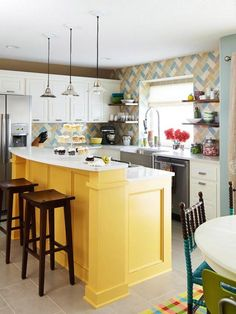Awesome And Charming Inspiration For Your Dream Kitchen Building or Remodeling Elegant Yellow Table Of 9 Great Inspiration Of Kitchen For Building or Remodeling – Home Design Tips And Inspiration