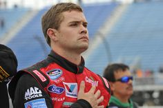 Ricky Stenhouse Jr. getting ready to Chicagoland Speedway!