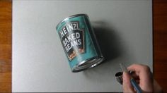 Watch this guy draw shockingly photorealistic everyday objects (3:41)
