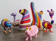 Afreaks-ceramic-animals-surreal-Haas-Brothers