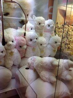 Plushies Tokyo - Alpaca big plush dolls claw machine