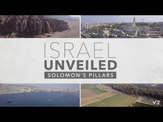Israel Unveiled Volume Solomon's Pillars {Behold Israel} Israel Unveiled Volume 2 is a journey through 4 different sites (Elah Valley, Solomon's Pillars, the Red Sea, and Joppa) in the land of the Bible with Amir Tsarfati. In The Beginning God, Christian Videos, Red Sea, Knowing God, Jesus Quotes, The Covenant, Bible, Youtube, Biblia