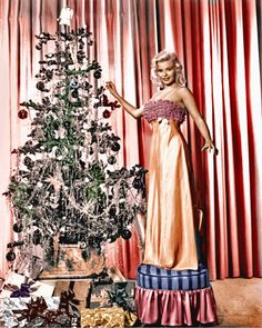 Jayne Mansfield wishes you good tidings!
