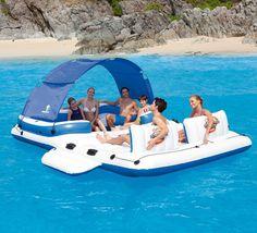Un super île gonflable pour embarquer avec tous vos amis ! A découvrir ici : http://www.raviday-piscine.com/ile-gonflable-bestway-tropical-breeze/ #ile #gonflable #tropicalbreeze #insolite