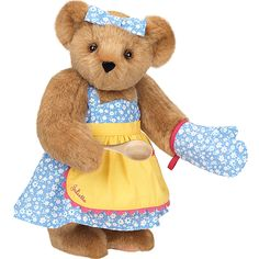 """15"""" Cooking Bear from Vermont Teddy Bear. $79.99. #MothersDay"""