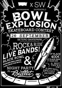 Bowl Explosion, eventazo en el skatepark Beteró (Valencia)  #skate #skateboarding #skateworld #LevisSkateboarding