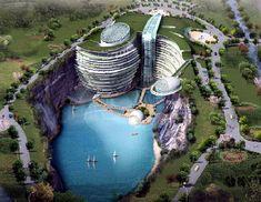 Waterworld Hotel. Songjiang, China