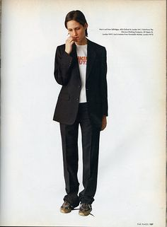 England's Dreaming The Face magazine, August 1993 Photography by Corinne Day, styling by Melanie Ward