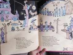 The Waiting Place from Oh! The Places You'll Go! by Dr Seuss.