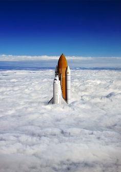 Над облаками. Shuttle