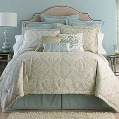 Cindy Crawford Coronado Paisley Comforter Set - jcpenney - For the Home - Bedding Master Bedroom Bedding Master Bedroom, Dream Bedroom, Home Bedroom, Bedroom Decor, Bedroom Ideas, Bedroom Stuff, Bedroom Designs, Bedroom Makeovers, Bedding Decor