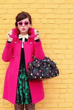 Candy Wrapper Coat| This Fashion Definitely Rocks! #youresopretty
