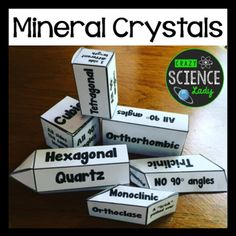 Build the crystal shapes! Awesomesauce.