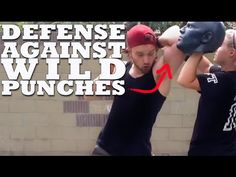 Defense Against Wild Haymaker Punches in a Fight