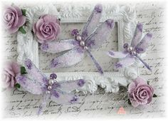Mystic Dragonfly Embellishments Sweet Liliac by LittleScrapShop, $3.50
