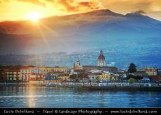 Italy - Sicily - Riposto under active Etna Volcano by Lucie Debelkova -  Travel Photography - www.luciedebelkova.com