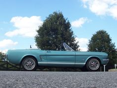 1966 Mustang Convertible - Tahoe Turquoise