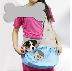 Pesp Pet Sling Carrier Bag Dog Cat Portable Outdoor Shoulder Bag ** Be sure to check out this awesome product. (This is an affiliate link) #DogCarrierSlings