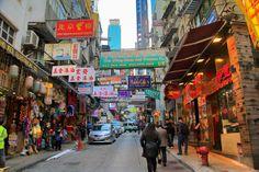Wellington Street, no Soho - HONG KONG - http://fuievouvoltar.com