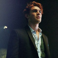 KJ Apa as Archie in Riverdale
