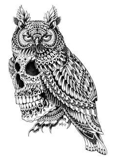 ... tattoo ideas gravures d art tattoos art zentangle animals skull owl