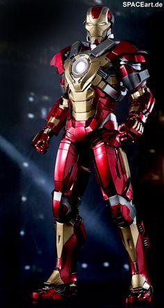 Hot Toys Marvel Iron Man Mark 17 Heartbreaker Action Figure for sale online Iron Man 3, Hot Toys Iron Man, Iron Man Suit, Iron Man Armor, Marvel Comics, Marvel E Dc, Marvel Heroes, Marvel Avengers, Marvel News