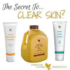 Do you suffer from excess, psoriasis or acne? Guess what? This trio combination can help you get clearer, healthier and more beautiful skin quickly. What would that do for your confidence? https://shop.foreverliving.com/retail/entry/Shop.do?store=GBR&language=en&distribID=440500089675