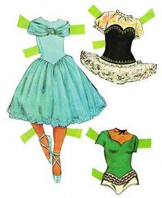 Whitman Ballet Dancers #1962 / 1968 - Sharon Souter - Picasa Web Albums