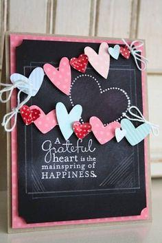 HEARTS BANNER - Rosely Pignataro: Corações reciclados