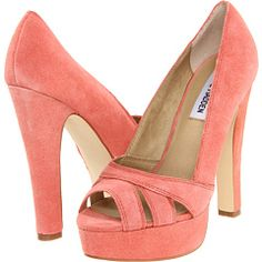 Steve Madden P-Hayle $49.99 in coral suede
