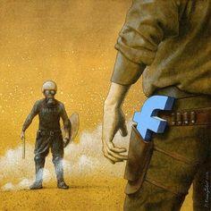 New Satirical Illustrations By Pawel Kuczynski